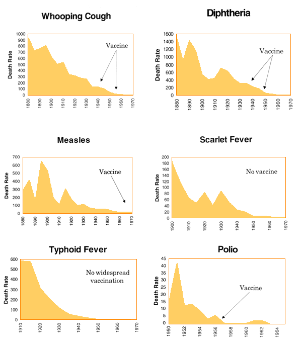 Historical Vaccine Graphs