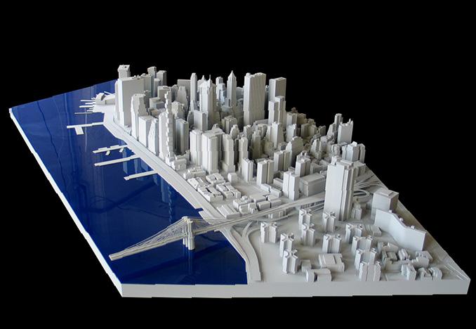 3d printed city