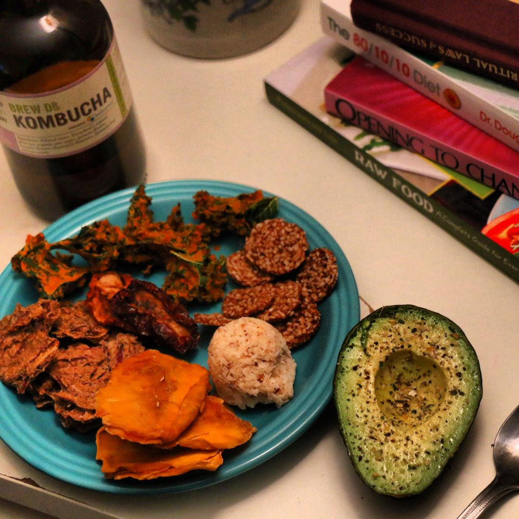 raw vegan snack mix