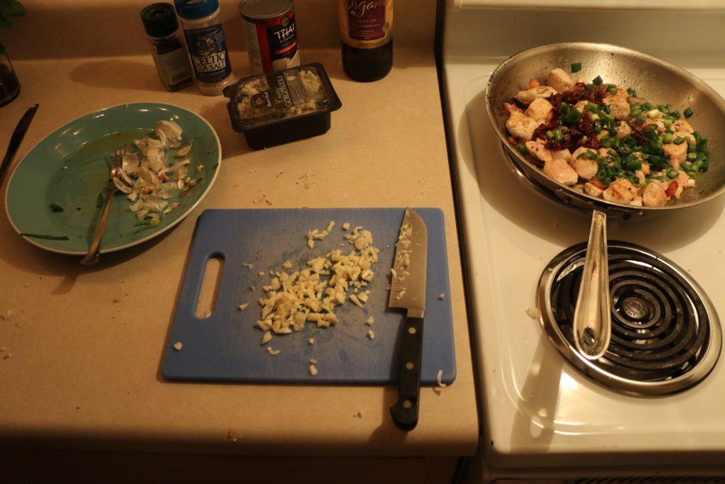 22 garlic chop