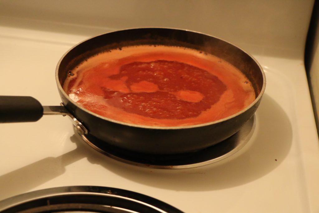 5 simmer sauce