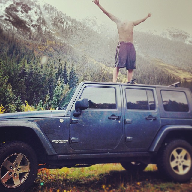 Travis Eric - I manifested a Jeep!