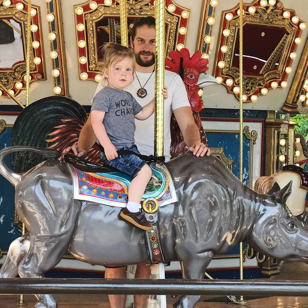 Bird was so excited to see the carousel He walkedhellip
